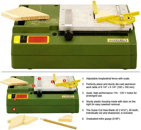 proxxon bench circular saw proxxon bench table and scroll saws