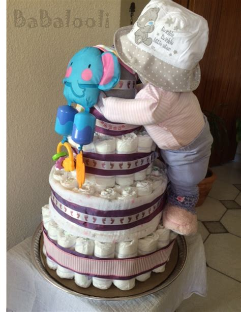 How To Make A Cake From Diapers For Baby Shower by Cake Baby Standing Cake Babalooli