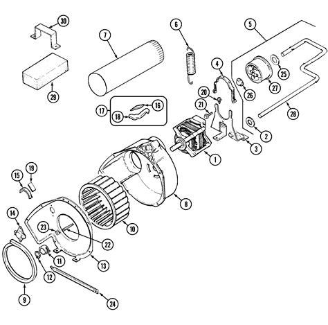maytag gas dryer parts diagram maytag electric gas dryer heater parts model pye2000ayw