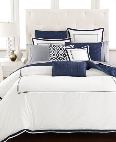 Hotel Collection Frame Bedding Hotel Collection Embroidered Frame King Comforter Only At Macy S Bedding Collections Bed