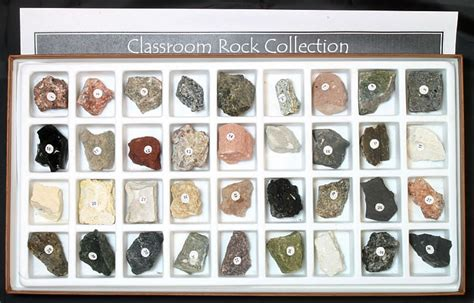 Set Rok rock kit rock collection rock collecting
