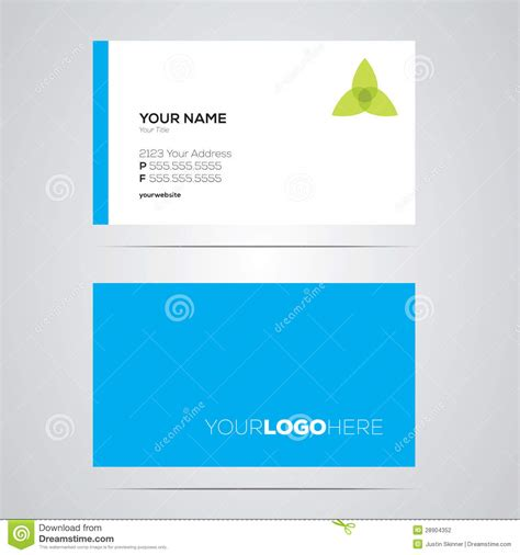 card layouts business card layout stock photography image 28904352