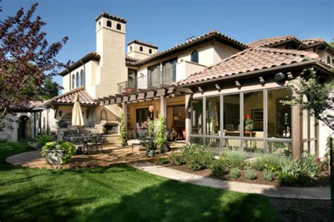 Mediterranean Home Plans crestmoor spanish revival mediterranean patio denver