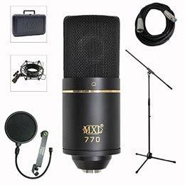 condenser microphone vs usb mxl 770 vs audio technica at2020usb plus review