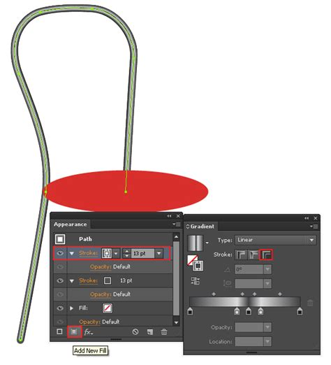 adobe illustrator cs6 ellipse tool quick tip how to create a metal chair in adobe