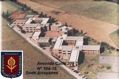 vestibulo norte universidad de la sabana universidad de la sabana sede arrayanes bogot 225