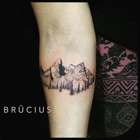 small mountain tattoo 50 sleeve mountain tattoos