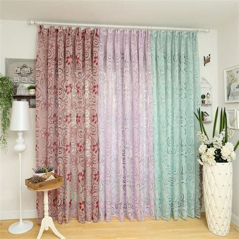 material for drapes european curtain kitchen multicolored elegant curtains for