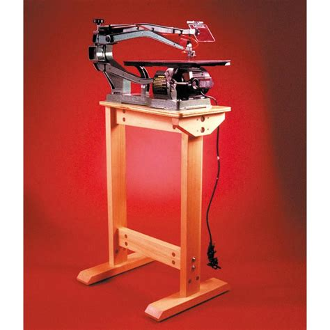 scroll saw bench plans super sturdy scrollsaw stand woodworking plan from wood