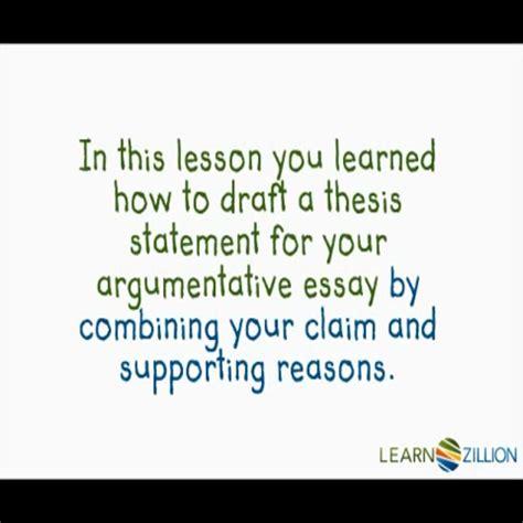 argumentative essay thesis statement argumentative essay write a thesis statement
