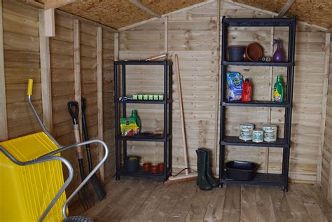 Shelving For Sheds Uk by Shed Storage Garden