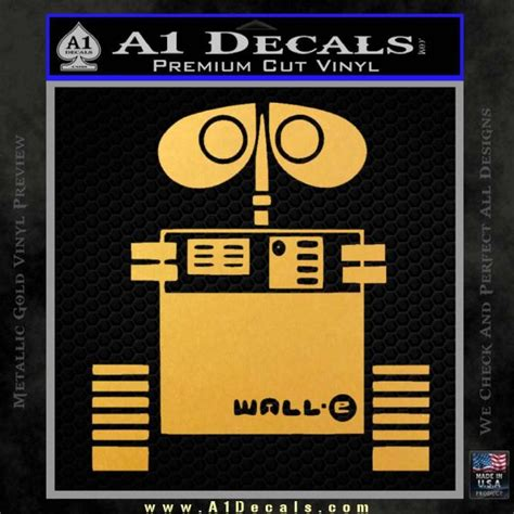 wall e stickers wall e d1 decal sticker 187 a1 decals
