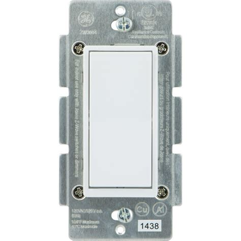smart lights home depot ge home automation 120 vac 3 way auxiliary add on switch