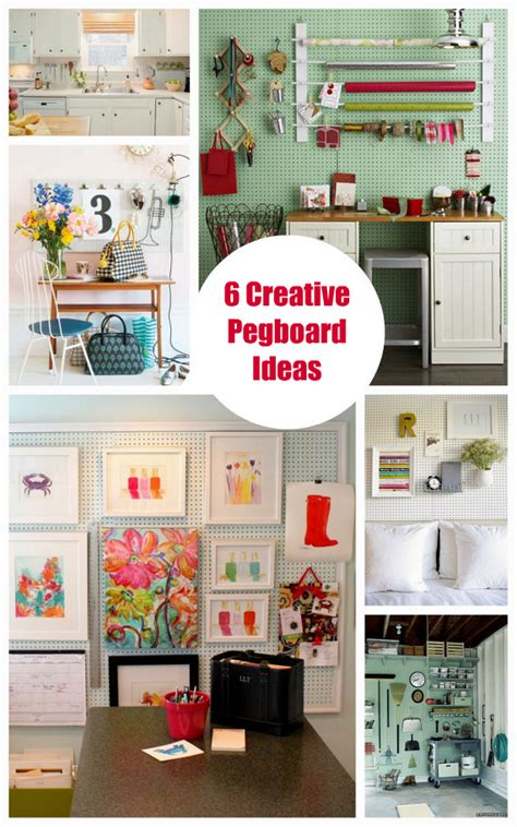 pegboard ideas 6 creative pegboard ideas organizing bright bold and