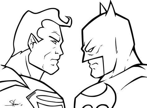 coloriage batman vs superman 224 imprimer sur coloriages info