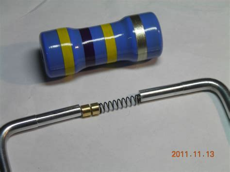what does resistor made of large resistor model