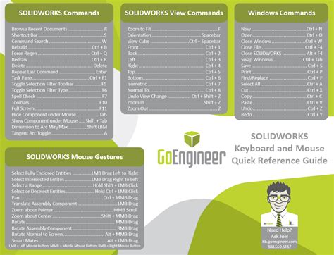 solidworks 2018 reference guide books solidworks shortcuts reference guide