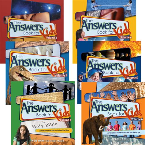the answers book for the answers book for kids complete set