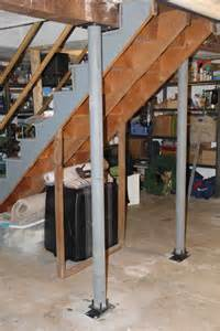 A Frame House Plans With Basement lally lock structural column offers code compliance and