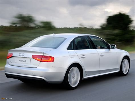 Audi A4 1.8T Sedan ZA spec (B8,8K) 2012 pictures (1280x960)