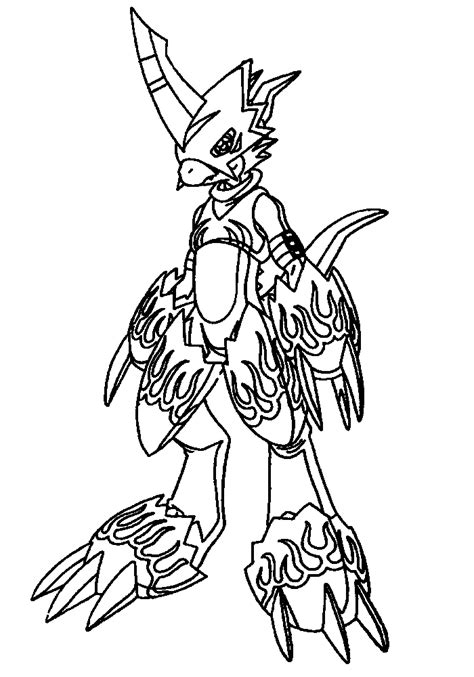 digimon coloring page coloring page digimon coloring pages 46