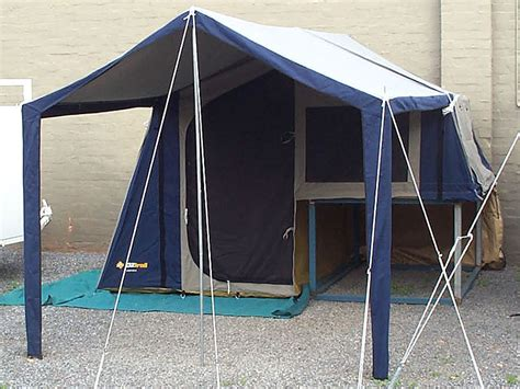 oz trail awning an oztrail cer 6 tent for the ratbag s quot new quot trailer