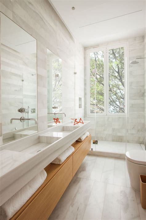 wooden bathrooms a bright and comfortable apartment interior design in