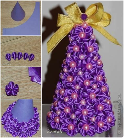 wonderful diy mesh ribbon christmas tree christmas tree