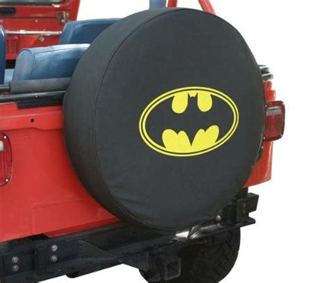 jeep wrangler batman 30 quot batman classic logo spare tire cover for jeep wrangler