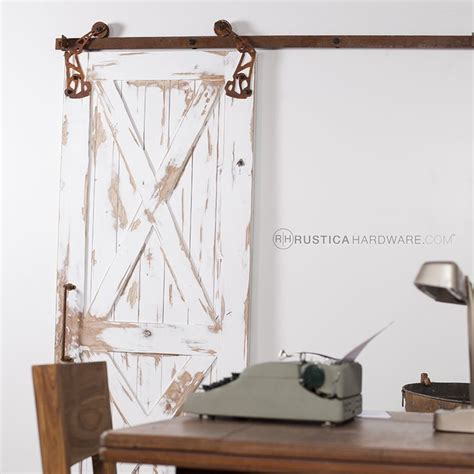 Barn Door On Rollers 1000 Ideas About Barn Door Rollers On Barn Doors Iron Shelf And Pulley