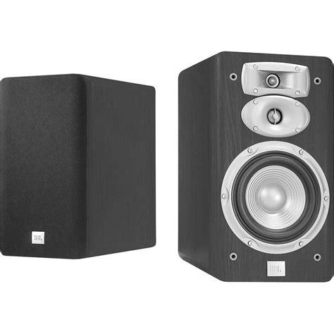 Jbl 830 Audio Speaker jbl l830 3 way 6 quot bookshelf speakers pair black l830 h