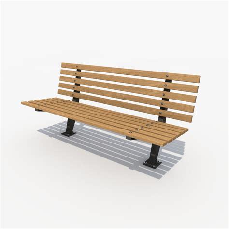 3d bench model 3d bench