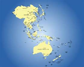 Map Of Asia Pacific by Asia Regions Map Images