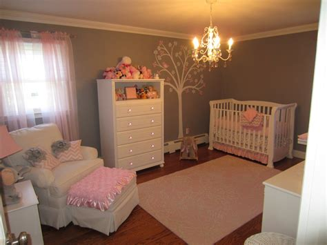 Pottery Barn Striped Bedding Pink And Gray Classic And Girly Nursery Project Nursery