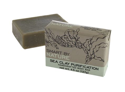 Sea Clay For Detox by Sea Clay Purification Handcrafted Bar Soap Smart By Nature