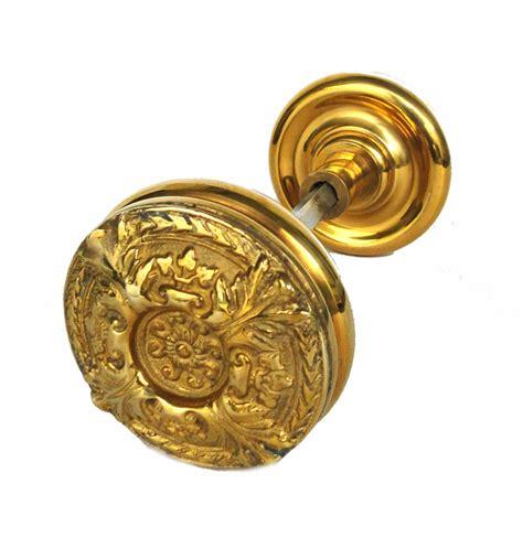 Door Knob Crafts by Vintage Brass Swirl Center Big Arts And Crafts