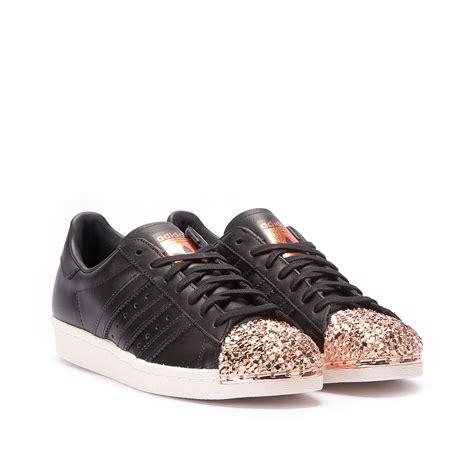 adidas superstar   metal toe tf black copper