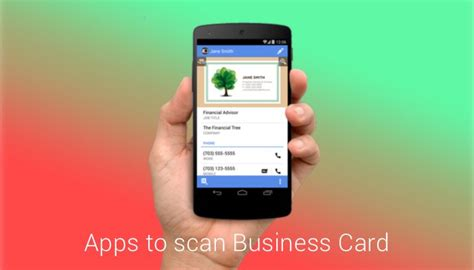 App To Store Business Cards Free