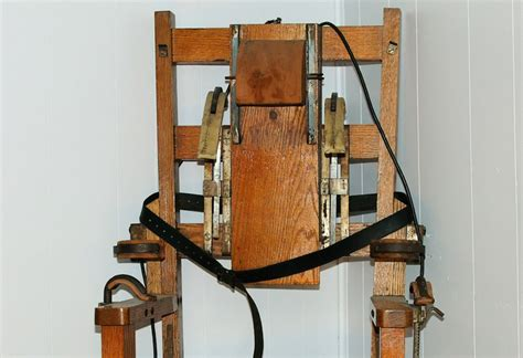 Penalty Electric Chair by Penalty Tn Archives Clarksvillenow