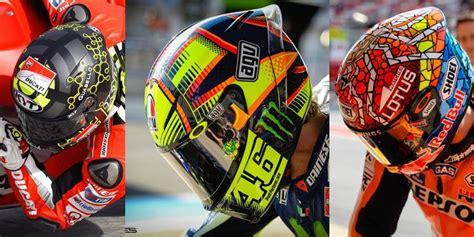 Helm Balap Valentino helm helm yang dipakai pembalap top motogp 2016 never ending