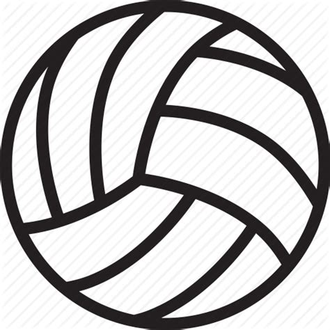 volleyball player icon png logo graphics template