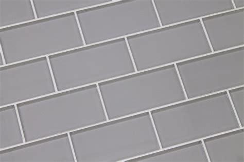 3x6 Subway Tile Kitchen Backsplash pearl gray 3x6 glass subway tiles kitchen backsplash