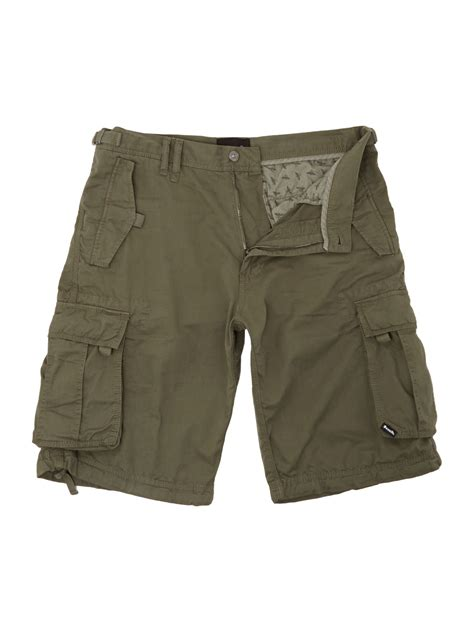 bench shorts mens bench cargo shorts in khaki for men lyst