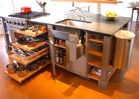 space saving kitchen islands space saving ideas for a small kitchen living big in a tiny house