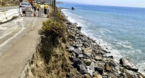 Nbc Pch - seawall construction to begin off pch nbc southern california