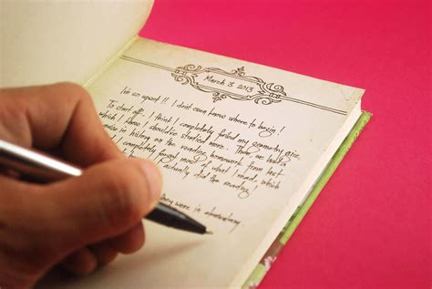 ways to design your journal fill the first page of your diary journal covers