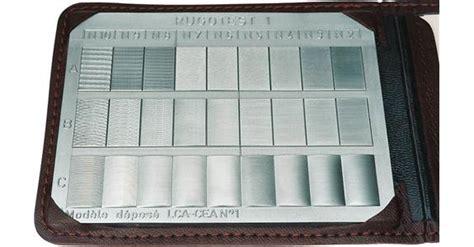 Polieren Rauheit by Rugotest Oberfl 228 Chen Musterplatten Satz Allgemein 27