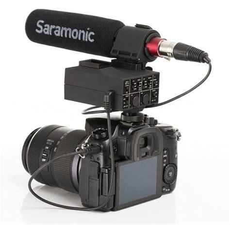 Saramonic Mixmic Shotgun Microphone With Adapter alat broadcasting microphone saramonic mixmic