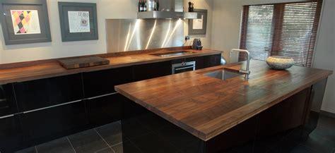 Butchers Block Kitchen Island walnut worktops bespoke walnut kitchen worktops