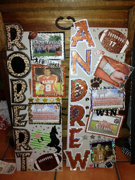 Football Locker Decorations by Football Locker Decorations Homecoming Cheerleading